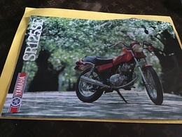 Publicité Moto Yamaha SR 125SE 125 Sr - Advertising