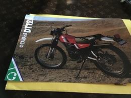 Publicité Moto Yamaha 125Dt 125  DT - Advertising
