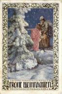 Frohe Weihnachten - Santa Claus
