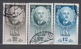 Ifni Correo 1950 Edifil 68/70 O - Ifni