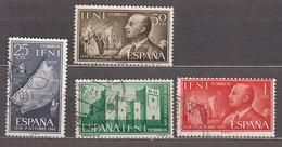 Ifni Correo 1961 Edifil 179/82 O - Ifni