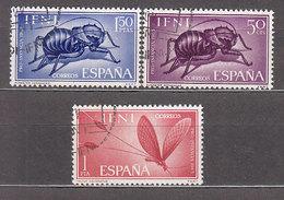 Ifni Correo 1965 Edifil 212/14 O - Ifni