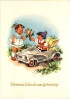 Kind Im Auto - Ansichtskarten