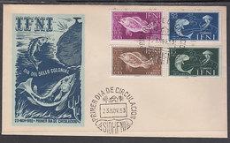 Ifni Sobres 1� D�a 1953 Edifil 99/102 - Ifni