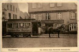 Sadthagen - Pferdebahn - Strassenbahn - Stadthagen