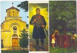 Crkva Zahvalnica -traveled FNRJ - Serbie