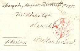 Free Frank Folded Letter Signed By Thomas Onslow, MP - Stamps
