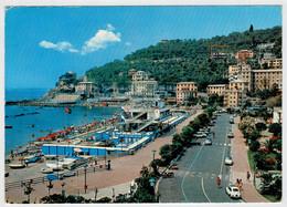 RECCO     LA  SPIAGGIA              (VIAGGIATA) - Italy