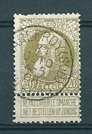 75 Gestempeld CHARLEROY SUD VALEURS - COBA 15 Euro (zie Opm) - 1905 Barbas Largas