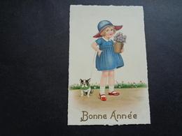 Enfant ( 4264 )  Kind     Chien  Hond - Enfants