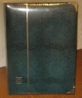 LEUCHTTURM - CLASSEUR COMFORT DE LUXE De Couleur Verte (64 Pages Fd Blanc) - Albums à Bandes