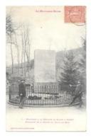 LA MONTAGNE NOIRE MONUMENT A LA MEMOIREDE RIQUET A ALZAU - Francia