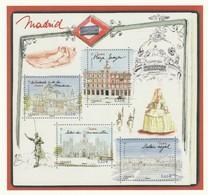 Phil@poste 2019 : Carte Pré-timbrée : Capitale Européenne Madrid - Postwaardestukken