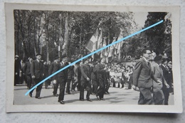 Photo CASTRES Défilé Patriotique Avril 1942 Zone Libre Vichy Maréchal Pétain Collaboration Région Toulouse Carcassonne - Places