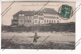 CPA WIMEREUX (62) : Grand Hôtel Cosmopolite Et Golf De La Pointe Aux Oies - Francia