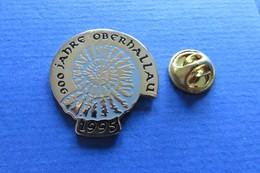 Pin's,escargot,coquille,amonite,Schnecke,900Jahre Oberhallau1995,limité 047/900 - Pin's & Anstecknadeln