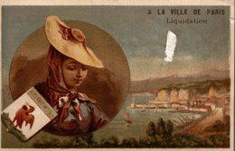 Chromo A La Ville De Paris Liquidation Alpes Maritimes Nice - Autres