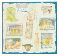 Phil@poste 2019 : Carte Pré-timbrée : Capitale Européenne Athènes - Postwaardestukken
