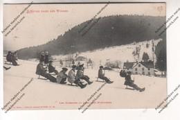 CPA Vosges : Glissade Au Flanc Des Montagnes (à René Carré De Villiers Vineux (89) Par Méchin Du 17eme BCP) - France
