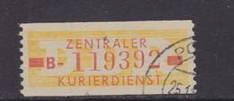 ZKD Wertstreifen Dienstmarken-B Michel Nr. 18 I B - Servizio