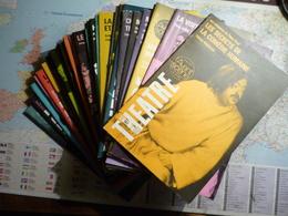 L'avant-scène Théâtre Lot De 63 Numéros Consécutifs Du N°501 (1-er Septembre 1972) Au N°563 (1-er Mai 1975) - Libri, Riviste, Fumetti