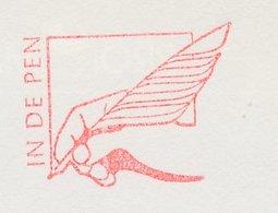 Meter Top Cut Netherlands 1994 Feather Pen - Notary - Sin Clasificación