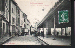 31, Cazeres, La Halle Et La Rue - Autres Communes