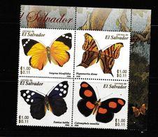 El Salvador  ; Papillons. Butterflies - Schmetterlinge