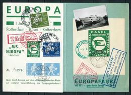 Pro-Europa - Carné-EUROPAVAART Año 1960 - European Ideas