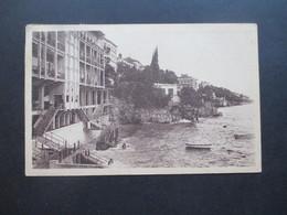 AK Jugoslawien Opatija Mit Dreimarken Mit Aufdruck FNR Michel Nr. 602 MeF Nach Ungarn Gesendet - Covers & Documents