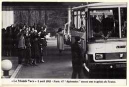 0 - F20269CPM - LE MONDE VECU - Serie H - 984  - 05/04/1983 - 47 Diplomates Russes Osnt Expulses De France - Très Bon ét - Evènements