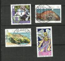 Ile De Man N°1364, 1394, 1395, 1437 - Isle Of Man