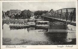 41984931 Holzminden Weser Dampfer Ankunft Holzminden - Holzminden
