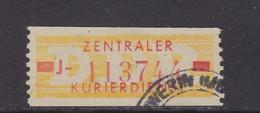 ZKD Wertstreifen Dienstmarken-B Michel Nr. 18 J - Servizio