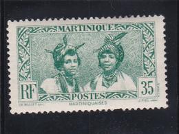MARTINIQUE N° 141 à 35c Vert - Martiniquaises - Timbre Neuf Sans Aucune Trace - Ungebraucht