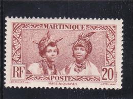 MARTINIQUE N° 139 à 20c Brun Rouge - Martiniquaises - Timbre Neuf Sans Aucune Trace - Ungebraucht