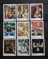 Portugal : Peintures  (I,II Et III) - 1910-... Republic