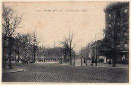 75 - B19808CPA - PARIS - ARR. 14 - La Place De La Mairie - Très Bon état - PARIS - District 14