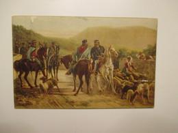 GARIBALDI Incontro Di G. E Vittorio Emanuele II Quadro C.Ademollo Comitato Onoranze A Garibaldi - Geschiedenis