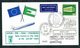 Pro-Europa (S) Tarjeta Año 1969 - European Ideas
