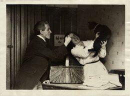 MR BLACK HAS KITTENS TOM SKETCH ELDER GATO CHAT KAT CAT ANIMAUX ANIMALS ANIMALES 21*16CM Fonds Victor FORBIN 1864-1947 - Otros
