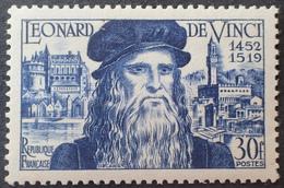 DF40266/915 - 1952 - LEONARD DE VINCI - N°929 NEUF** LUXE - France