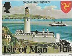 ILE DE MAN - PHARE DOUGLAS  N° 110 PAIRE NEUVE  XX  BDF  - ANNEE 1978 - Isola Di Man
