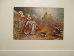 GARIBALDI Bandiere Simboli CROCE ROSSA Motto Sarai Vendicato - Geschiedenis