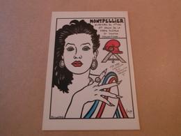 Cpm De Collection  MONTPELLIER 1989.-bicentenaire De La Revolution - Lardie