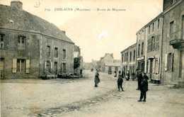 JUBLAINS   =   Route Dr Mayenne  1187 - Frankrijk