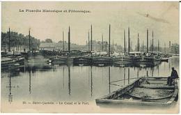 CPA -02 - SAINT QUENTIN - Le Canal Et Le Port - - Saint Quentin