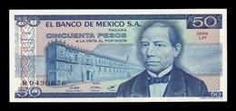 México 50 Pesos 1981 Pick 73 Serie LH SC UNC - Mexiko