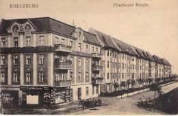 DEUTSCHLAND Allemagne ( Ehemalige Dt. Gebiete - Schlesien ) KREUZBURG Pitschener Strasse - CPA Mignonette 11.8 X 7.8 Cm - Schlesien