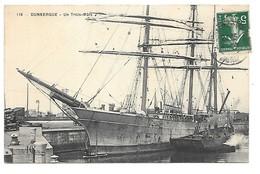 Cpa...Dunkerque...un Trois Mats....1911 - Dunkerque